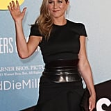Flirt Alert! Jennifer Aniston Is Back in Sexy Black