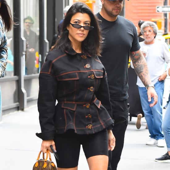 Kourtney Kardashian Bag Style