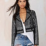 Nasty Gal Living After Midnight Studded Jacket ($348)