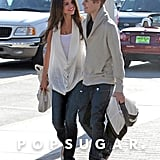 In February 2011, Justin Bieber and Selena Gomez strolled hand in hand at the Santa Monica Pier.