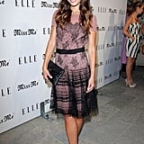 Jordana Brewster was ladylike and lovely in Temperley at Elle's soiree.