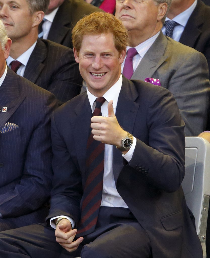 Prince Harry Can't Hide His Pride During The Invictus