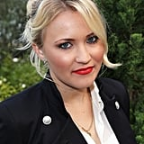 Looking a lot more mature than her Hannah Montana days, Emily Osment stunned in red lipstick and a chic updo.