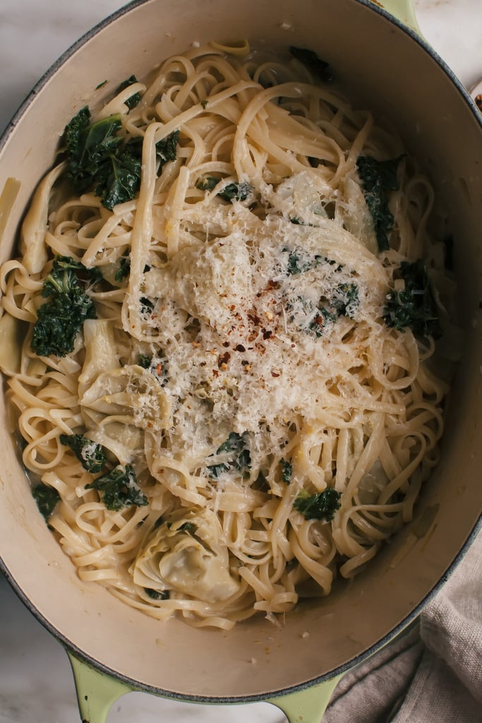 Lemon Kale One-Pot Pasta