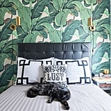 Wouldn't she love this jungle-print wallpaper?