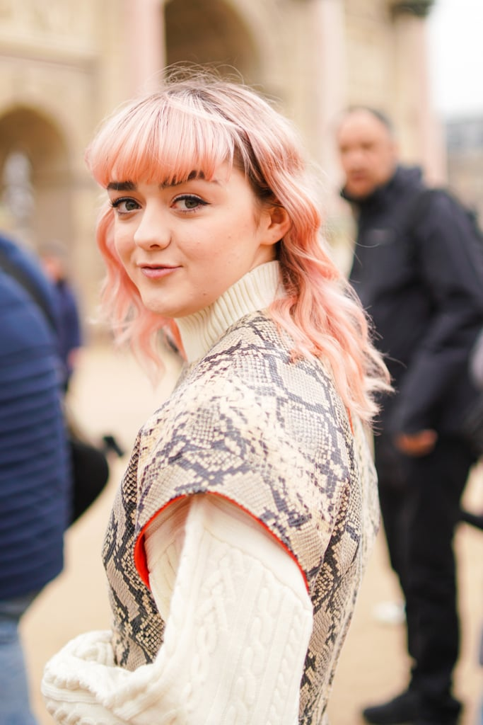 Winter Hair Color Trend: Shades of Pink