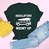 Regulators Mount Up Adult Holiday Edition Tee