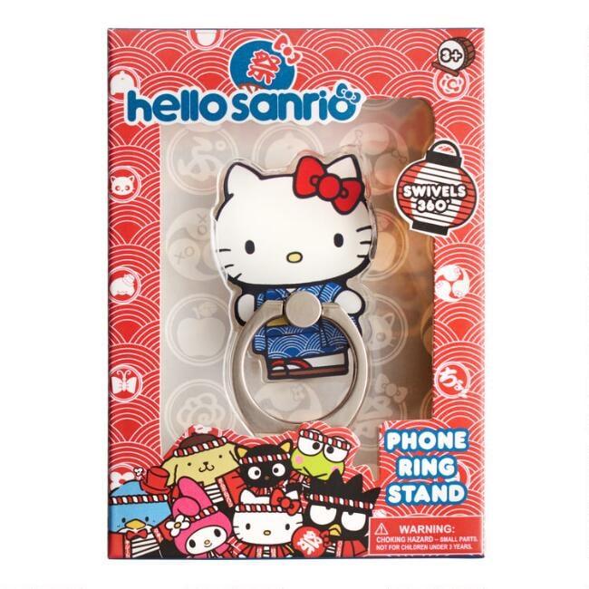 Hello Kitty Omatsuri Smartphone Ring Stand
