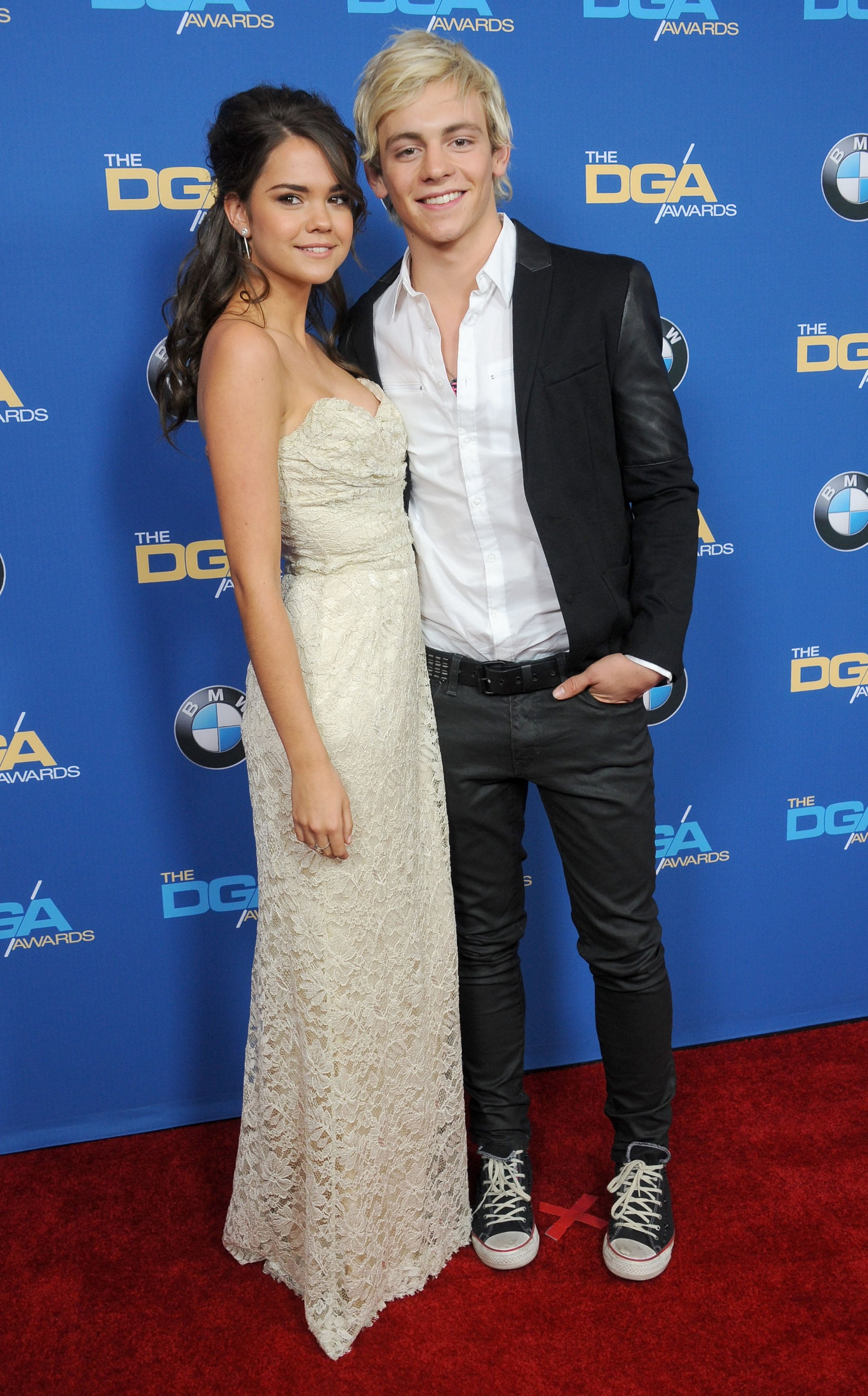 are maia and ross dating