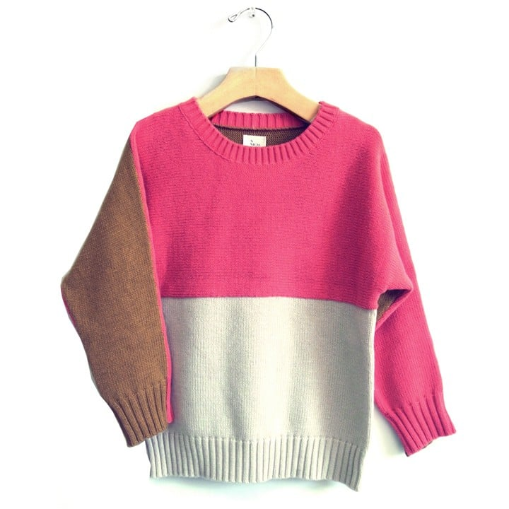 Nico Nico Harvard Block Sweater ($116)