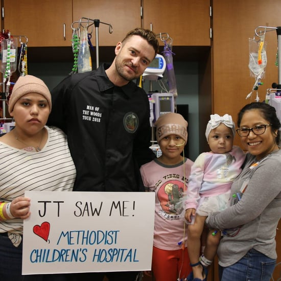 Justin Timberlake Visits Hospital in Texas January 2019