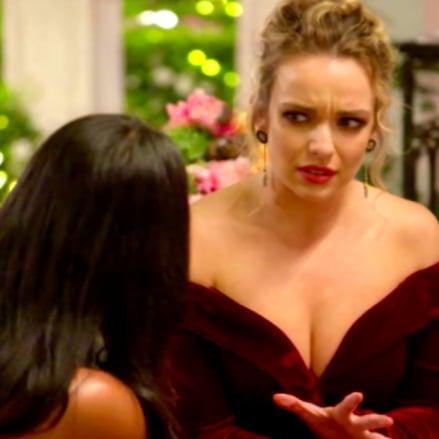 Sogand and Abbie Confrontation The Bachelor Australia