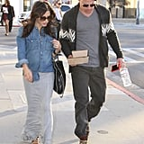 Pregnant Jenna Dewan and Channing Tatum stepped out for lunch in LA.