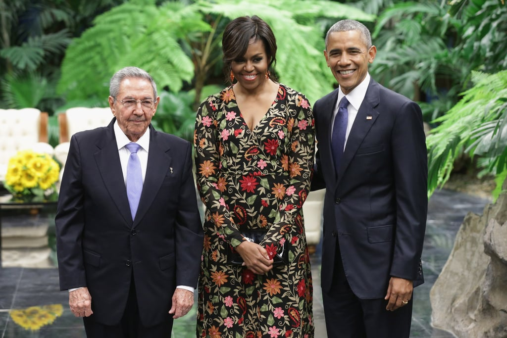 Michelle Obama's Dress at Cuba's State Dinner