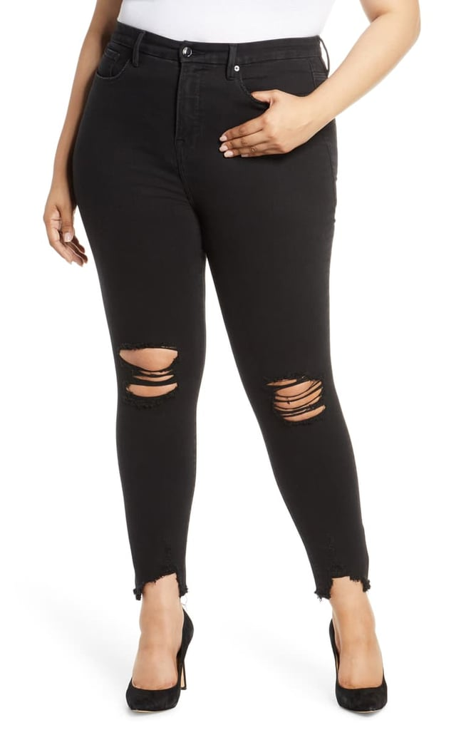 Good Body Ripped High Waist Skinny Jeans