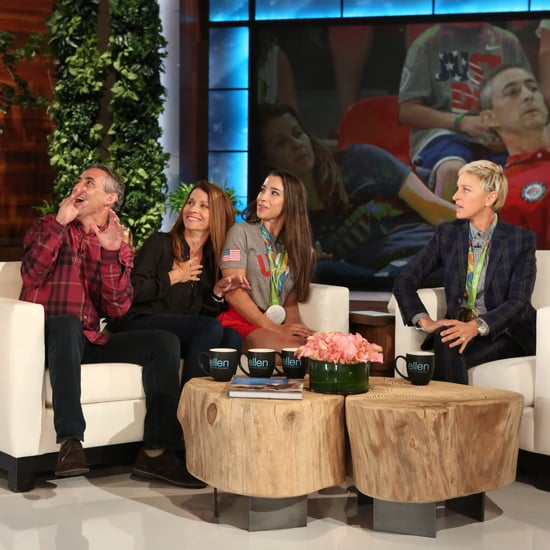 Aly Raisman on The Ellen Show September 2016 Video
