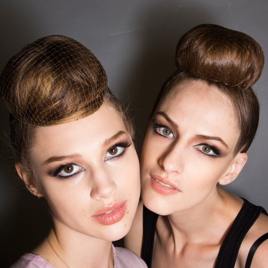 Haute Couture Hairstyles and Makeup for Fall 2014