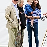 Prince William Wants Prince Charles to Have More Family Time