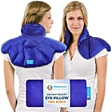 PhysioNatural Microwavable Heating Pad With Natural Herbal Aromatherapy