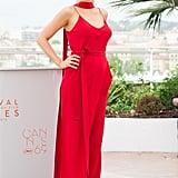 Blake Lively Juan Carlos Obando Jumpsuit at Cannes 2016