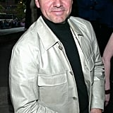Kevin Spacey sported a baseball cap during the Tribeca Film Festival About a Boy premiere in April 2002.