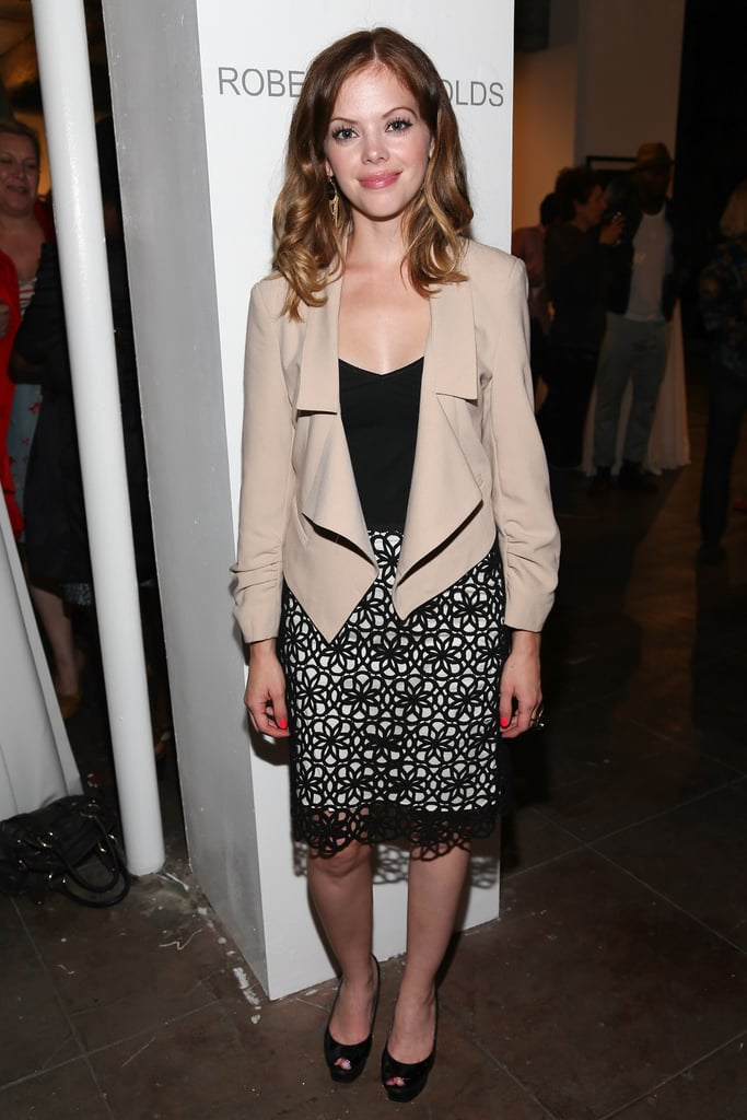 Dreama Walker attended the Casting By afterparty.