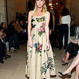 Nicky Hilton Rothschild at the Oscar de la Renta Fall 2020 Show