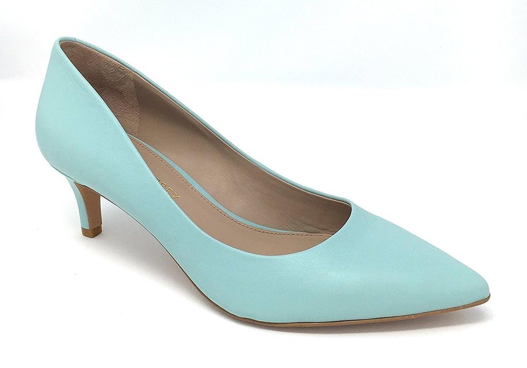 c610888a135 Shoes of Prey Women's Como 55 Heels | Victoria Beckham Green Heels ...