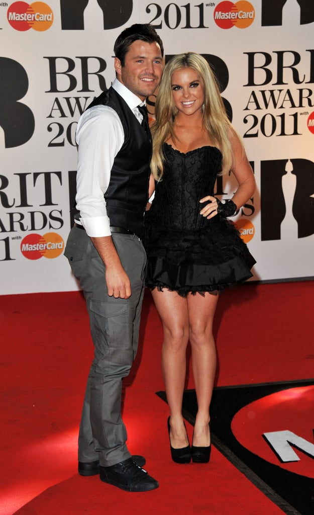Mark Wright and Kayla Collins