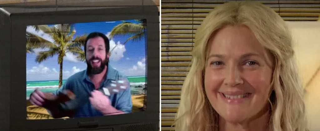Drew Barrymore and Adam Sandler 50 First Dates Reunion Video