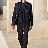 This Patterned Suit From Perry Ellis