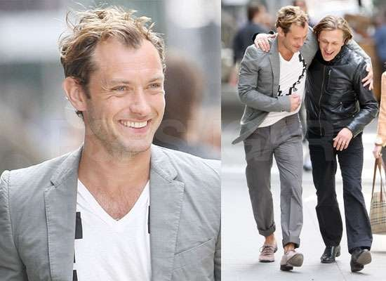 Photos of Jude Law in NYC