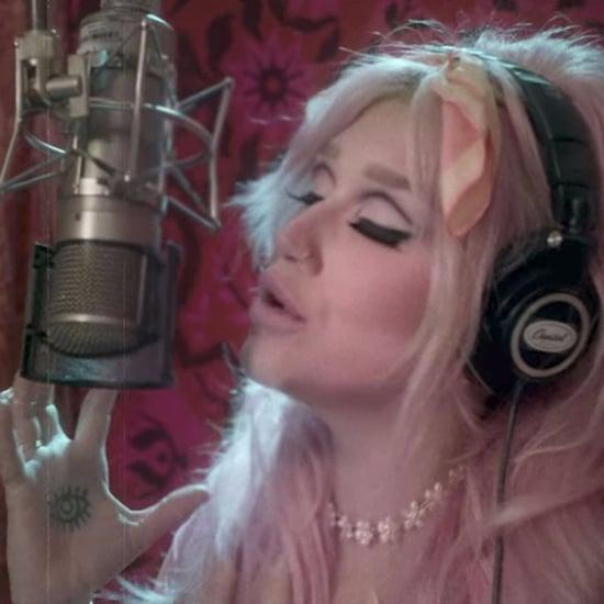 "Kesha's ""Rainbow"" Music Video"