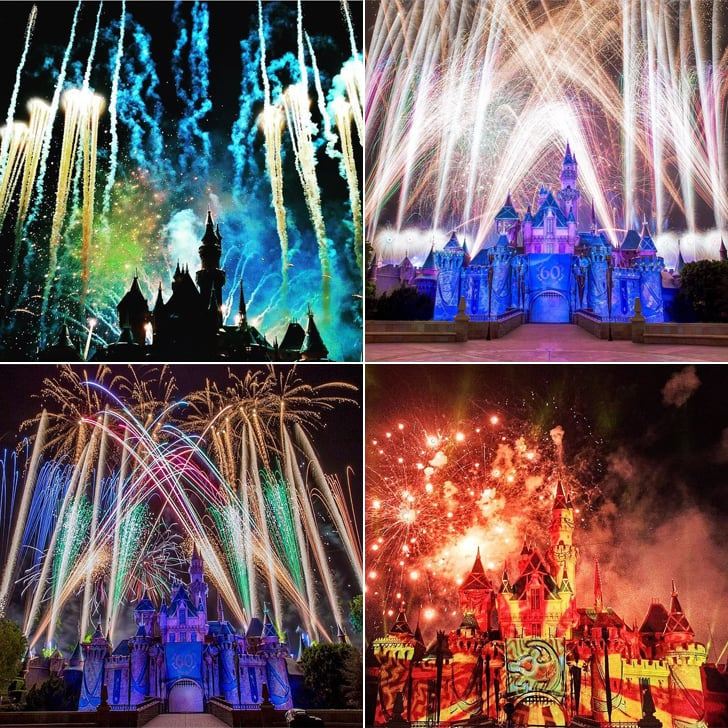 Disneyland Fireworks Photos