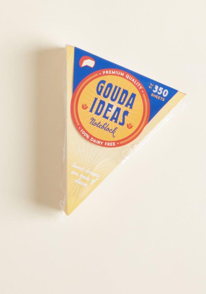 Chronicle Books Gouda Idea Notepad