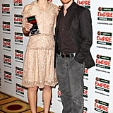 Keira Knightley Joins Lily Cole and James McAvoy For a Winning Evening