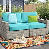 Sol 72 Outdoor Falmouth Loveseat With Cushions