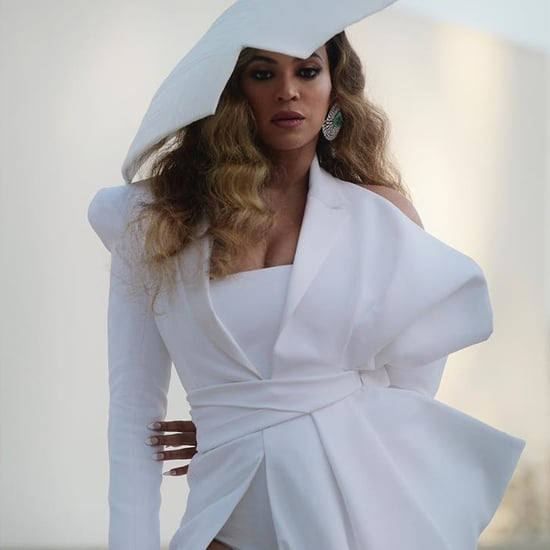 Beyoncé's White Balmain Gown at the 2019 NAACP Image Awards