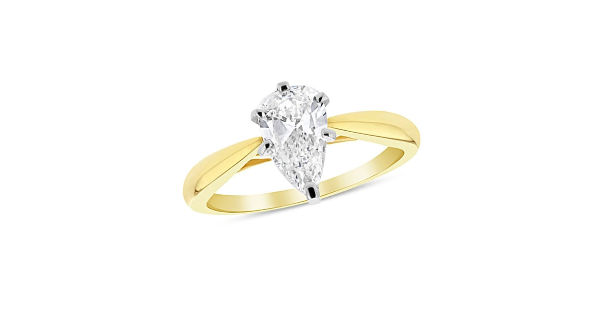 Zales Pear Shaped Diamond Solitaire Engagement Ring