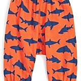 Infant Peek Happy Shark Print Pants