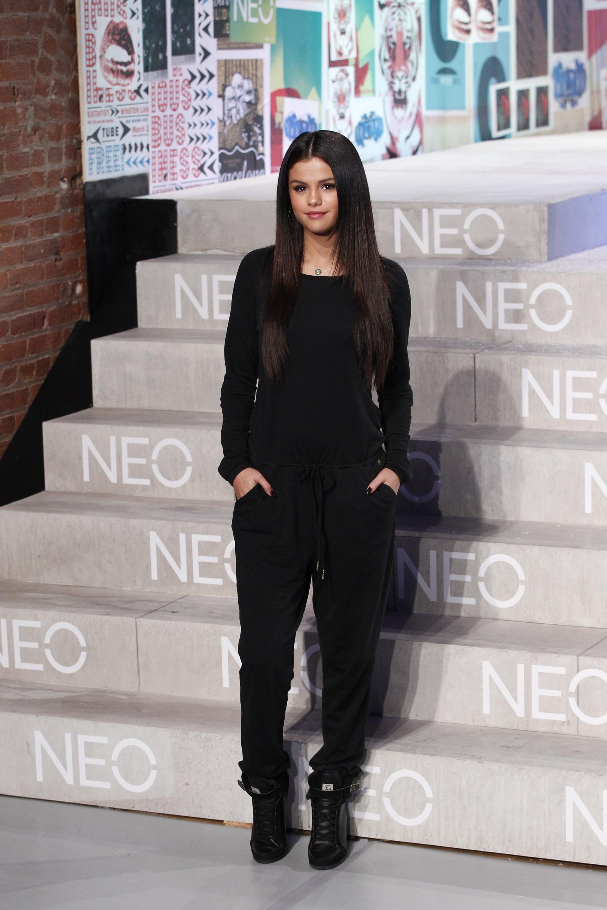 Selena Gomez Adidas NEO Collection | POPSUGAR Fashion