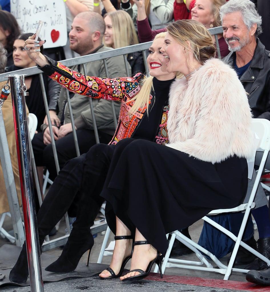 Gwen Stefani and Blake Shelton Hollywood Walk of Fame 2017 ...