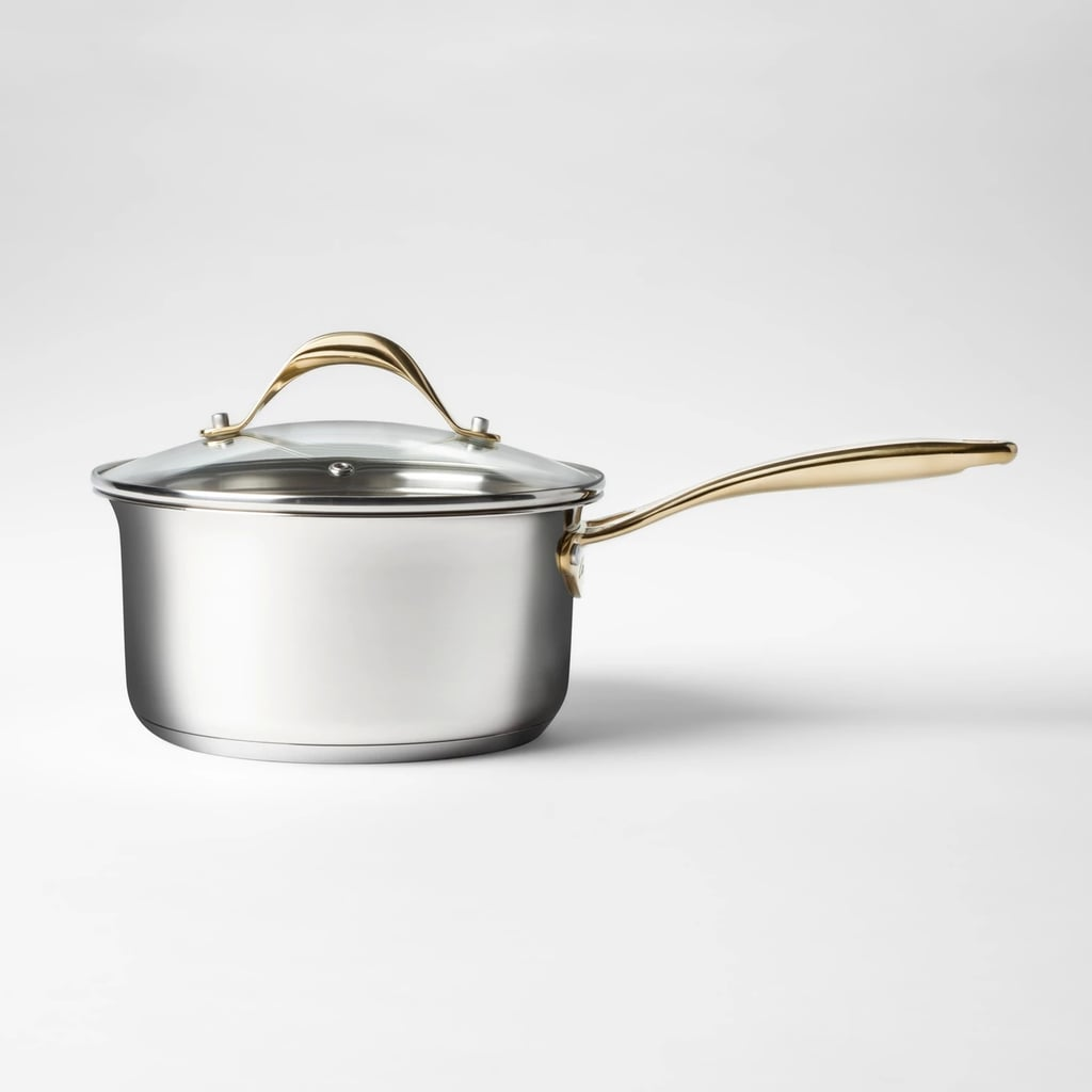 Cravings by Chrissy Teigen Stainless Steel Covered Saucepan