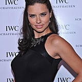 Adriana Lima went to the IWC Schaffhausen boutique opening.