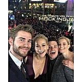 When He Snapped the Best Hunger Games Selfie Ever