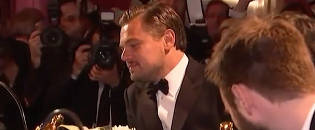 Watch Leonardo DiCaprio Make Fun of His Oscar Win Better Than the Internet Ever Could