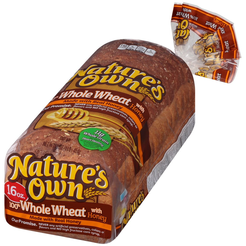 Nature's Own 100% Whole Wheat Bread Made With Honey