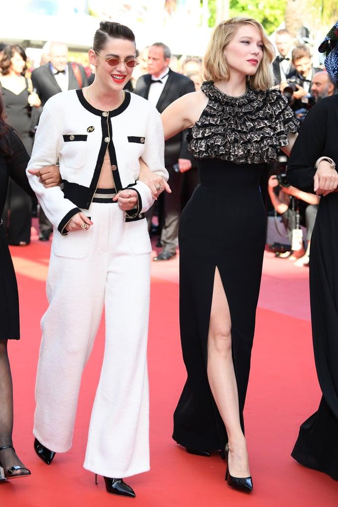 Kristen Stewart and Léa Seydoux