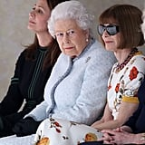 Queen Elizabeth II and Anna Wintour