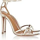 Olivia Palermo x Aquazzura Leather Sandals